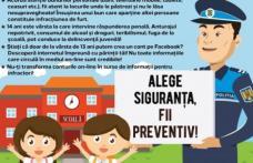 Poliţiştii botoşăneni alături de elevi în Săptămâna Altfel