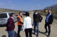 CJ Botoșani: Lucrări pentru stabilizarea a două alunecări de teren - FOTO