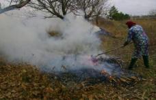 Autoritățile atenționează: Arderea resturilor vegetale se pedepsește cu amendă de până la șase mii de lei