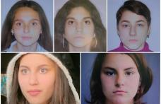 Polițiștii le-au găsit pe cele cinci minore din Dorohoi date dispărute în weekend