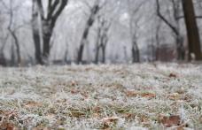 Informare meteo! Săptămâna se încheie cu vreme deosebit de rece, brumă și îngheț