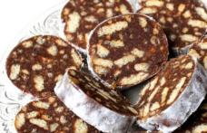 Salam de biscuiți cu fructe uscate - de post