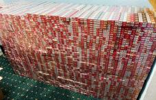 Zi de 13 cu ghinion pentru contrabandişti: Ţigarete de peste 21.000 de euro confiscate de către poliţiştii de frontieră - FOTO