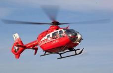 Tânără de 25 de ani în stare gravă după un accident. Elicopterul SMURD chemat pentru transferul acesteia