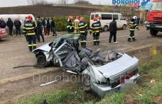 Accident deosebit de grav la ieșirea din Dorohoi! Două persoane au decedat și alte patru au ajuns la spital - FOTO