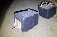 Colete cu țigarete de contrabandă descoperite la frontiera cu Ucraina