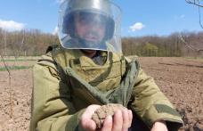 Grenadă descoperită în grădina unui localnic din județ - FOTO