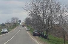 Accident la Brăești! Un copil a fost rănit în urma unei depășiri neregulamentare
