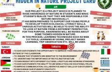 """Elevi și profesori de la Colegiul Național """"Grigore Ghica"""" Dorohoi implicați în proiectul eTwinning """"HIDDEN IN NATURE """" - FOTO"""