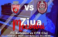 Meci important astăzi la Botoșani. CFR Cluj joacă cu titlul pe masă