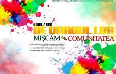 """""""De dragul lor Mișcăm comunitatea"""" invitație de suflet, cu ocazia zilei de 1 Iunie"""