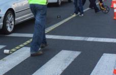 Accident pe strada C.D.Gherea! Adolescentă lovită de o mașină pe trecerea de pietoni