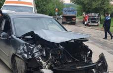 Accident rutier cu trei răniți! Două autoturisme s-au ciocnit la Stăuceni - FOTO