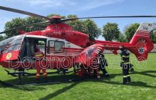 Bărbat din Șendriceni preluat de urgență de elicopterul SMURD de la Dorohoi – FOTO