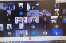 """Colegiul Național """"Grigore Ghica"""" Dorohoi, școală candidat EPAS: întâlnire on-line cu europarlamentarul Victor Negrescu"""