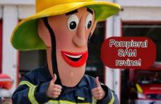 Pompierul Sam revine alături de copii, la Maratonul Tinereții