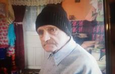 Bătrânul dat dispărut în urmă cu câteva zile, găsit de polițiști într-o pădure
