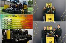 Echipa de robotică North East Dynamics Dorohoi din nou la înălțime – Record național la etapa regională