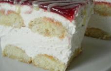 Prăjitură cu mascarpone și pastă de pere