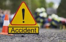 Accident rutier cu două victime. Șoferul - reținut. Nu avea permis de conducere și era băut