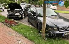 Accident cu trei mașini implicate pe Bulevardul Victoriei din Dorohoi - FOTO