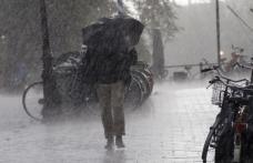 Atenție! COD PORTOCALIU de ploi și vânt emis pentru Dorohoi