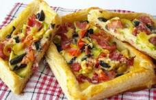 Mini-pizza cu foietaj