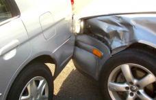 Accident produs de un tânăr fără permis de conducere