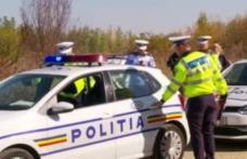 Un șofer beat a ajuns la spital după ce s-a răsturnat cu mașina