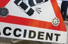 Accident la Văculești produs de un șofer în stare de ebrietate
