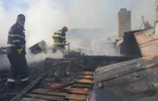 Patru incendii în mai puțin de șapte ore, în județul Botoșani