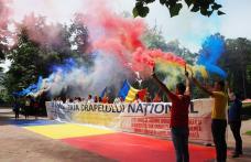 Organizația PSD, alături de botoșăneni de Ziua Drapelului Național - FOTO