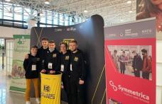 """Roboticienii echipei North East Dynamics de la Liceul """"Regina Maria"""" din Dorohoi au revenit acasă campioni! - FOTO"""