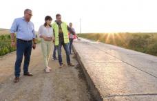 """Doina Federovici """"Noi chiar facem ceea ce am promis: asfaltăm drumul prin Prăjeni"""" - FOTO"""