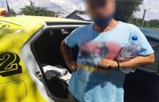 Ţigarete de contrabandă transportate cu taxiul - FOTO