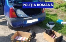 Șofer de 72 de ani prins cu țigări de contrabandă în portbagaj