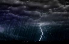 ANM a emis o informare meteorologică de vijelii puternice și grindină