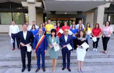 """Imnul """"Deșteaptă-te, române!"""" cinstit de social-democrații botoșăneni - FOTO"""
