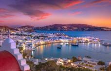 Alertă de călătorie! 13 insule grecești marcate cu roșu închis pe harta Covid a Centrului European