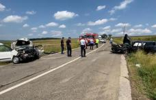 Tragedie în județul Botoșani! Un bărbat a murit, iar alte trei persoane au fost rănite într-un accident