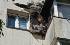 Panică într-un bloc din Botoșani după ce un aparat de aer condiționat a luat foc