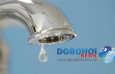 Nova Apaserv anunță o nouă avarie la conducta de apă din Dorohoi. Vezi zonele afectate!