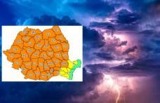 Alertă meteo de vijelii și grindină pentru județul Botoșani