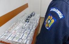 """""""Cărăuș"""" de țigări depistat de jandarmi în piața din Botoșani"""