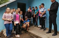 """Activitate de voluntariat la Viișoara  în cadrul proiectului """"De vorbă cu BUNICIIˮ - FOTO"""