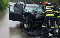 Accident grav la Suharău! Un tânăr găsit inconștient și alte două persoane ajunse la spital - FOTO