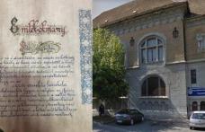 Descoperire neașteptată în timpul renovării unei foste școli din Arad. Vezi ce se afla încastrat în perete