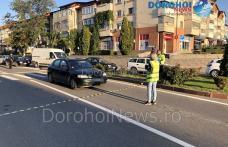 Accident la Dorohoi! Femeie acroșată pe o trecere de pietoni de pe strada Spiru Haret - FOTO