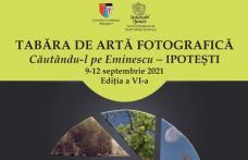 """Tabără de artă fotografică """"Căutându-l pe Eminescu"""", la Memorialul Ipotești"""