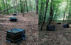 Focuri de armă la Pomârla pentru oprirea contrabandiștilor de țigări, la frontiera cu Ucraina